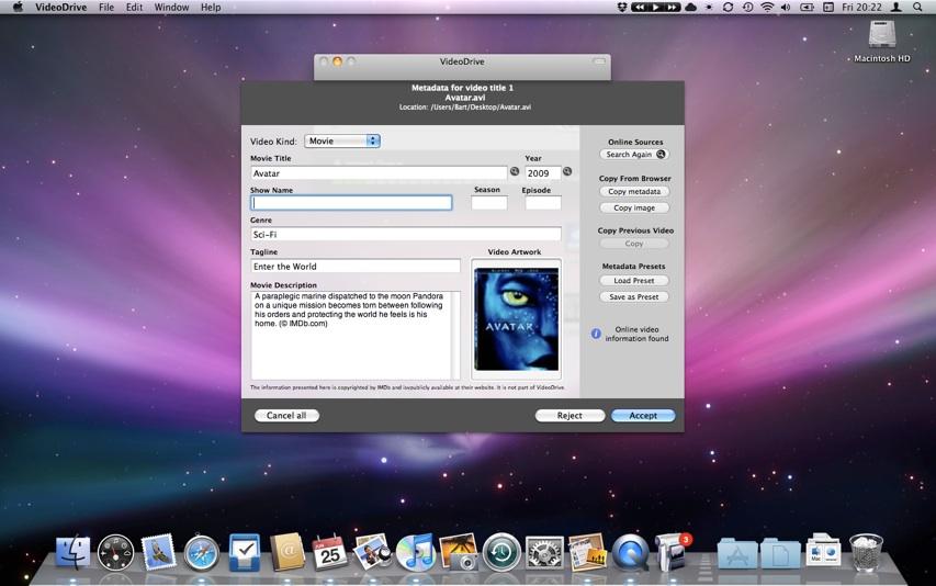 Screenshot Aroona.net VideoDrive2 Software